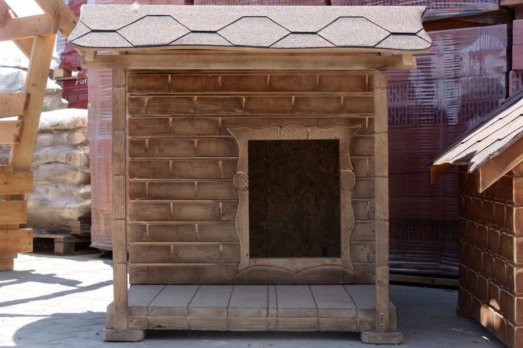 Деревянная будка 185х105х120 см