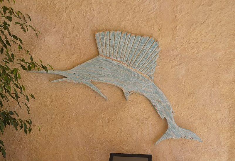 Украшение рыба-меч