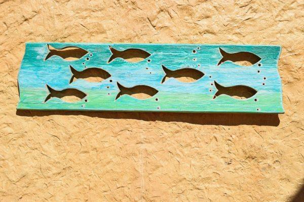 Рыбки из дерева