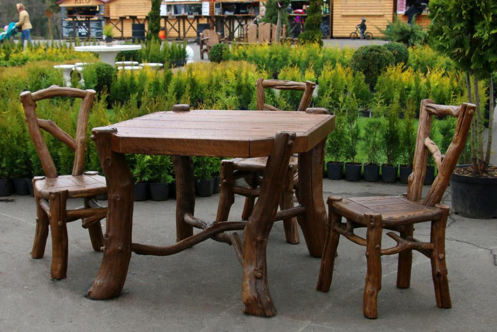 Комплект садовой мебели стол и 4 стула