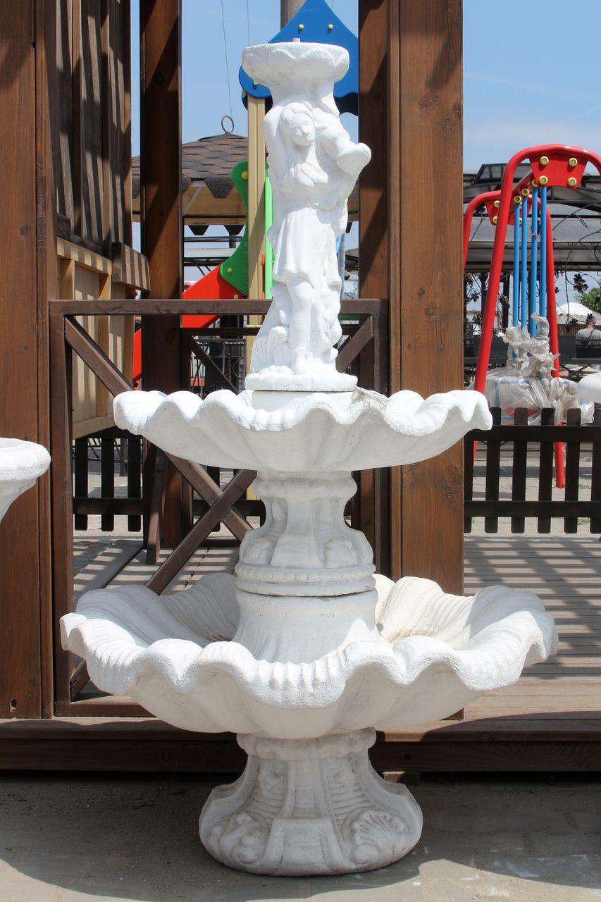 фонтан из бетона для дачи купить