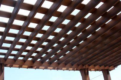 Крыша теневого навеса